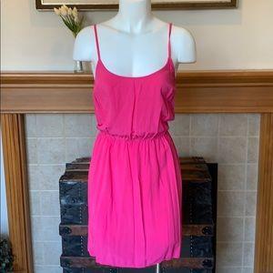 Medium elastic waist halter, cami, tank top dress
